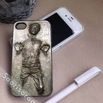Star Wars Han Solo Frozen in Carbonite for iPhone 4/4s, iPhone 5, 5s, 5c Case, Samsung Galaxy S3, S4 Case