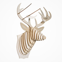 This Birch Wood Taxidermy Mounts Your Wall in Style