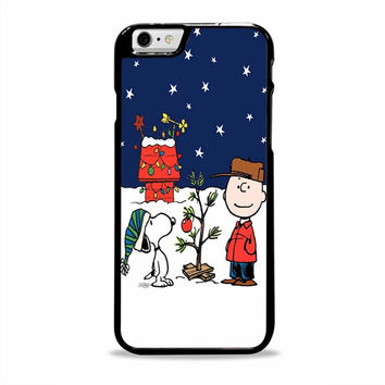 Charlie brown christmast cartoon Iphone 6 plus Cases