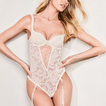 Fishnet Lace Teddy - Very Sexy - Victoria's Secret