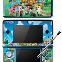 Animal Crossing New Leaf Game Skin for Nintendo 3DS Console