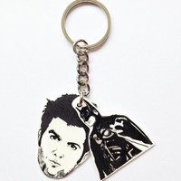 Parks and Recreation: Ben/Batman Treat Yo Self  Limited Edition keychain