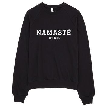 Namaste In Bed Sweater Made in LA
