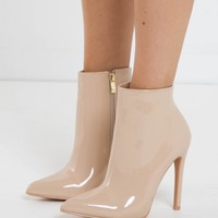 Franki Boot - Nude Patent