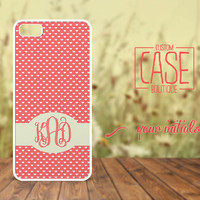 Personalized case for iPhone 5 and iPhone 4 / 4s - Plastic iPhone case - Rubber iPhone case - Monogram iPhone case - CB009