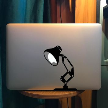 "Pixar Lamp Funny Laptop Decal for Apple Macbook Sticker Pro Air Retina 11"" 12 13 15 Mac Vinyl 15.6 HP Acer Notebook Partial Skin"