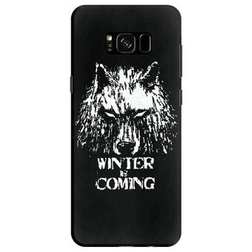 game of thrones direwolf winter is coming Samsung Galaxy S8