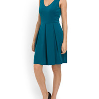 Flare Dress With Cutout Back - Women - T.J.Maxx