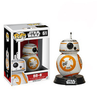 J.G Chen Funko Pop! Movie Pop STAR WARS BB8 BB-8 Vinyl Action Figure Kids Toys for Christmas Gifts