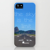 The Sky is the limit! iPhone Case by Louise Machado | Society6