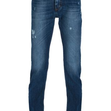 Pierre Balmain Distressed Skinny Jean
