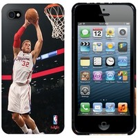 Blake Griffin Los Angeles Clippers iPhone 5 Action Image Phone Case