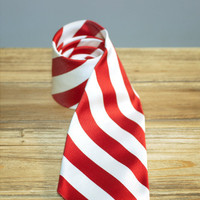 Skippers Tie - Red | Rowdy Gentleman