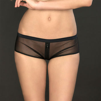 Maison Close: Pure Tentation Shorty with Zip