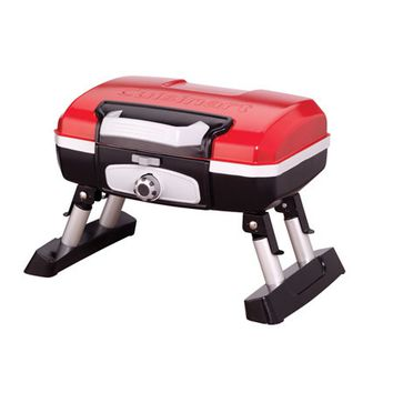 Cuisinart-Portable Tabletop Gas Grill Red