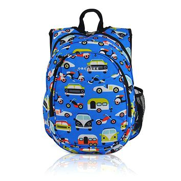 Obersee Kids Pre-School All-In-One Backpack With Cooler - Transportation
