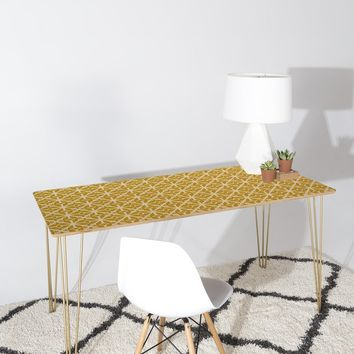 Heather Dutton Diamante Gold Desk