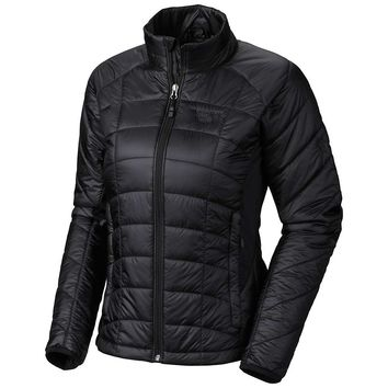 Mountain Hardwear Zonic Jacket - Women's Large - Black / Black