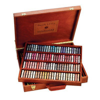 Sennelier Luxury Wood Box Soft Pastels Sets