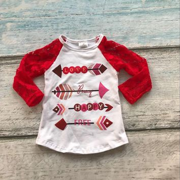 Valentine's Day Baby girls clothes