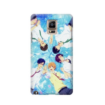 P2127 Free Iwatobi Swim Club Case For Samsung Galaxy Note 4