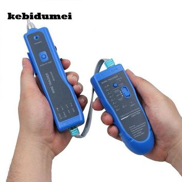DCCKFS2 kebidumei Newest RJ11 RJ45 Cat5 Cat6 Telephone Wire Tracker Tracer Toner Ethernet LAN Network Cable Tester Detector Line Finder