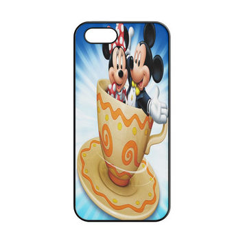 Mickey Mouse and Minnie Mouse Cute Couple Cartoon iPhone 4 | 4S Case