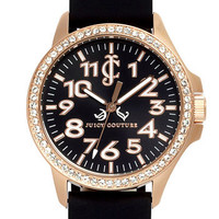 Juicy Couture 'Jetsetter' Silicone Strap Watch | Nordstrom