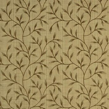 Robert Allen Fabric 216056 Pure Bliss Green Leaf