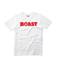 Boast - Wordmark Tee - White