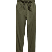 Wide-cut Drawstring Pants - from H&M