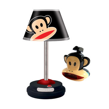 Paul Frank Table Lamp and Projection Clock Radio