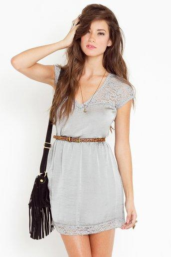 Orchid Lace Dress in  Clothes Dresses at Nasty Gal
