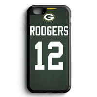 Aaron Rodgers Jersey iPhone 4s iphone 5s iphone 5c iphone 6 Plus Case   iPod Touch 4 iPod Touch 5 Case