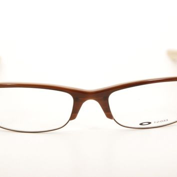 New Authentic Oakley 12-033 Yardstick 1.0 Cappuccino 52mm Eyeglasses RX