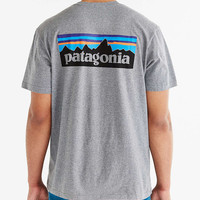 Patagonia P-6 Logo Cotton Tee - Urban Outfitters