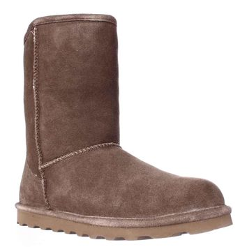 Bearpaw Elle Short Cold Weather Boots, Hickory, 11 US / 42 EU