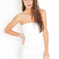 Blank Mesh Dress in Sale Dresses at Nasty Gal