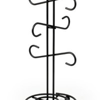 Spectrum 44710 Scroll Mug Holder, Black