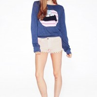 AMERICAN LIPS BAGGY BEACH JUMPER