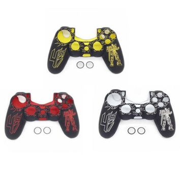 Gen Game Transformers Protective Silicone Skin Case Grip Cover for PS4 Dualshock 4 Controller Shell ps4 decals for playstation 4