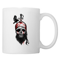 Fallen Pirate Coffee Mug