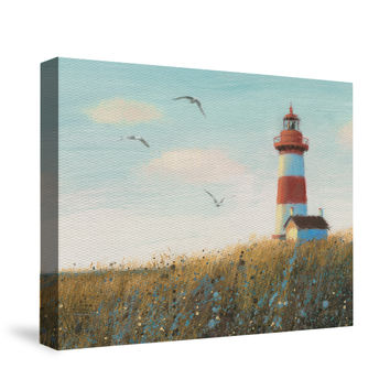 Seaside View Canvas Wall Art