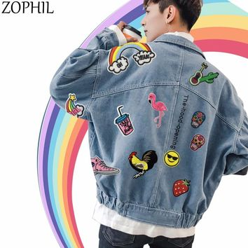 ZOPHIL Clothing Patches Iron on Clothes Stickers Embroidery Patch Embroidered Crafts Badge Rose Flowers Applique Transfer Stripe
