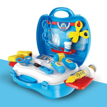 KIDS DOCTOR KIT - A UNIQUE MEDICAL SUITCASE FOR CHILDREN - Let Your Kids Dream that They are The Best Doctors While they Enjoy This Unique Play Set. The Perfect Gift To Develop Creativity in Children.