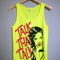 RIHANNA - Talk That Talk Tank Top (S)