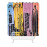 Irena Orlov New York Downtown Shower Curtain