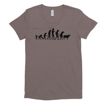 Modern Evolution Triblend Ladies Tee