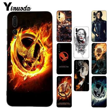 Yinuoda The Hunger Games Movie Logo Coque Shell Phone Case  for Huawei P9 P10 Plus Mate9 10 Mate10 Lite P20 Pro Honor10 View10