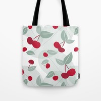 Cherry Time Tote Bag by mirimo
